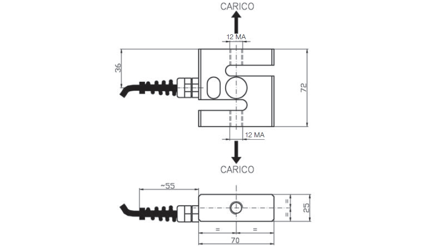 tension load cell af1