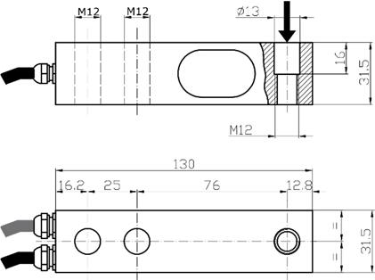 Weighing Systems KIT Cestello Schema
