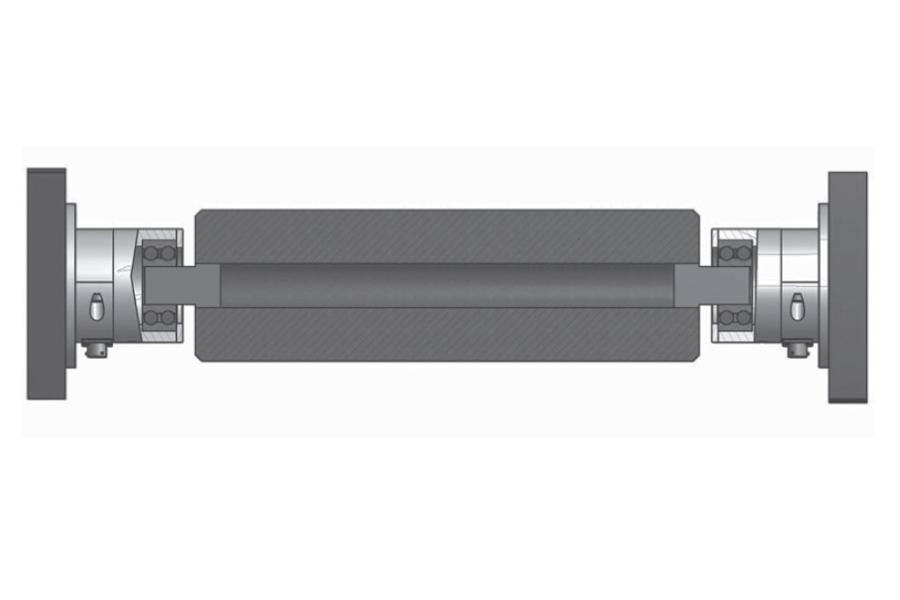 Rollen-Wägezelle R80MF Montaggio