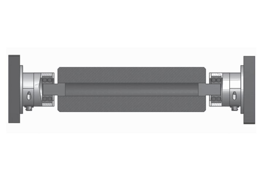 Rollen-Wägezelle R84CR Montaggio