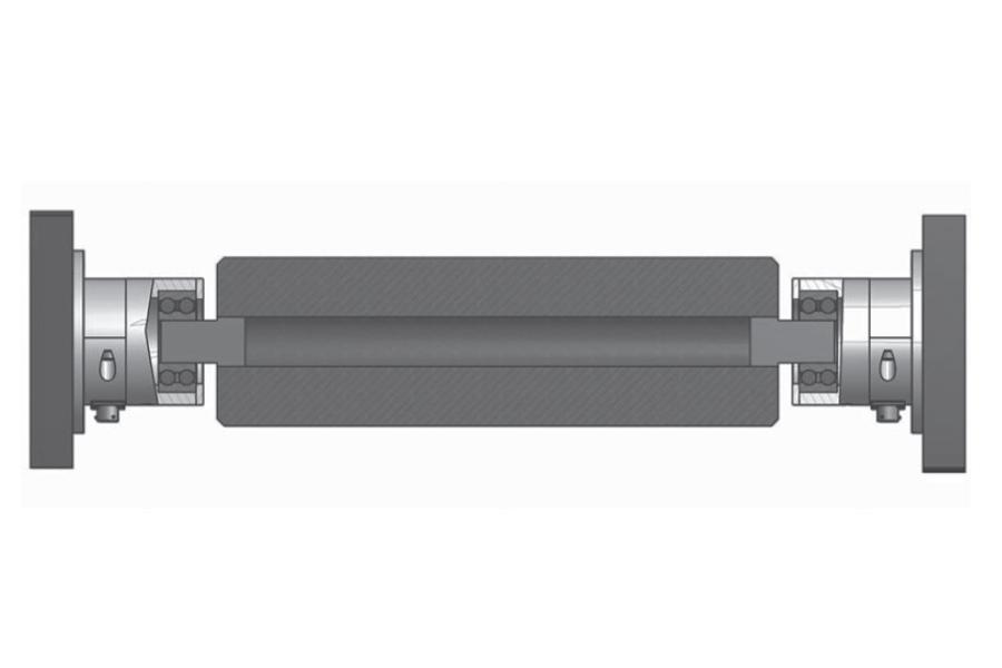 Rollen-Wägezelle R84MR Montaggio