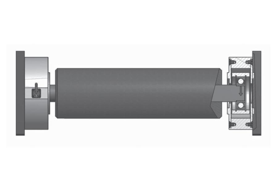 Rollen-Wägezelle R105A/125A/175A Montaggio