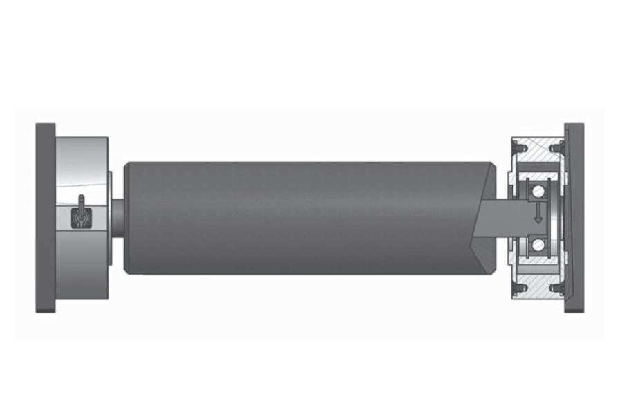 Rollen-Wägezelle R105B/125B/175B Montaggio