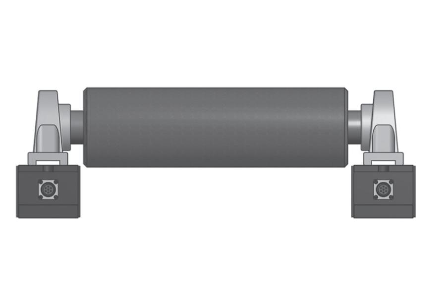 Rollen-Wägezelle R180T Montaggio