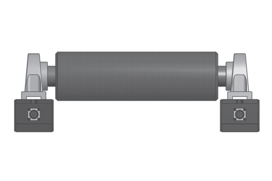 Rollen-Wägezelle RT320 Montaggio