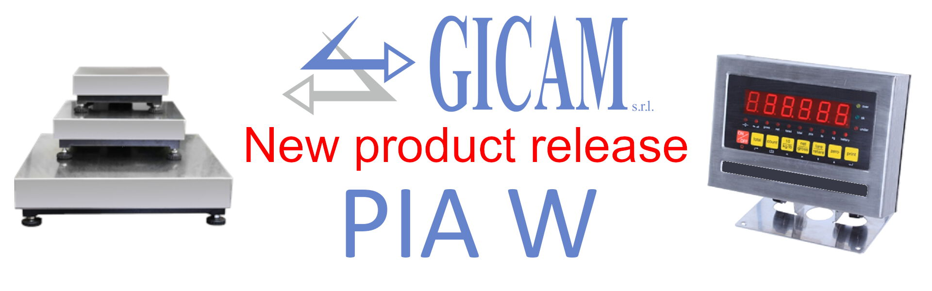 Gicam S.r.l. Weighing Systems PIA W